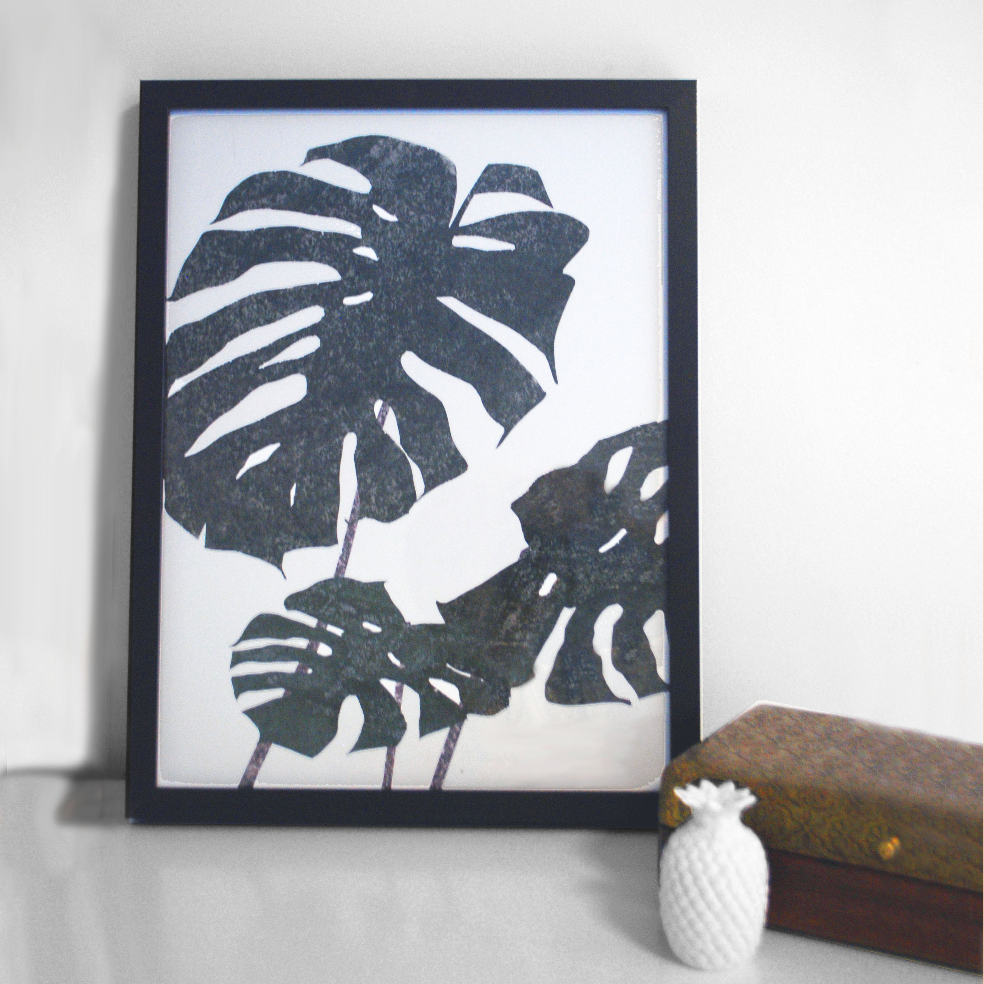 Cheese Plant Print