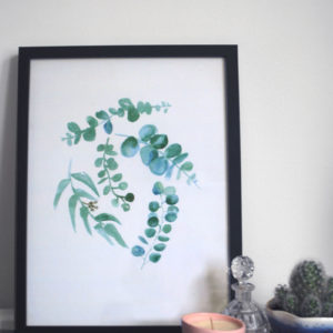 Eucalyptus Leaves Print - Polly Rowan